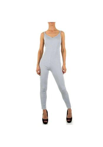 Neckermann Dames Jumpsuit - grijs