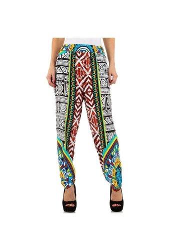 EMMA&ASHLEY Pantalon pour femme - blanc / multi