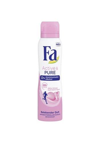Fa Fa Deospray 150ml Active & Pure