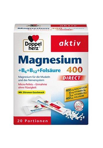 Dubbel Hart Magnesium + B6 + B12 direct 20 verpakkingen