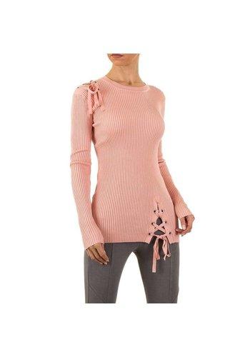 EMMA&ASHLEY Dames Sweater Gr. één maat  - roze