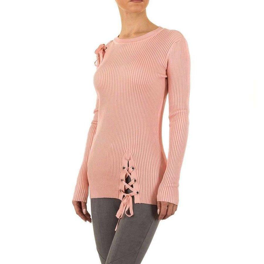 Damen Pullover Gr. eine Größe - Rosa