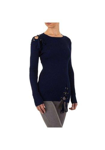 EMMA&ASHLEY Damen Pullover Gr. Einheitsgröße - DK.blau
