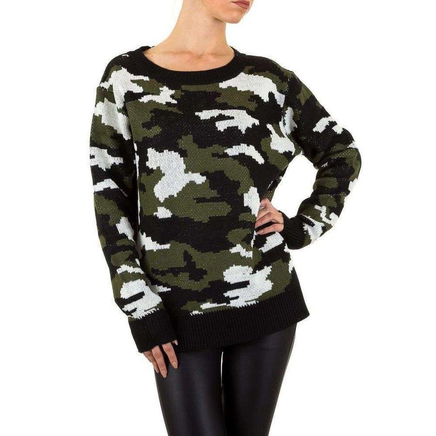 Damen Pullover Gr. eine Größe - Tarnung