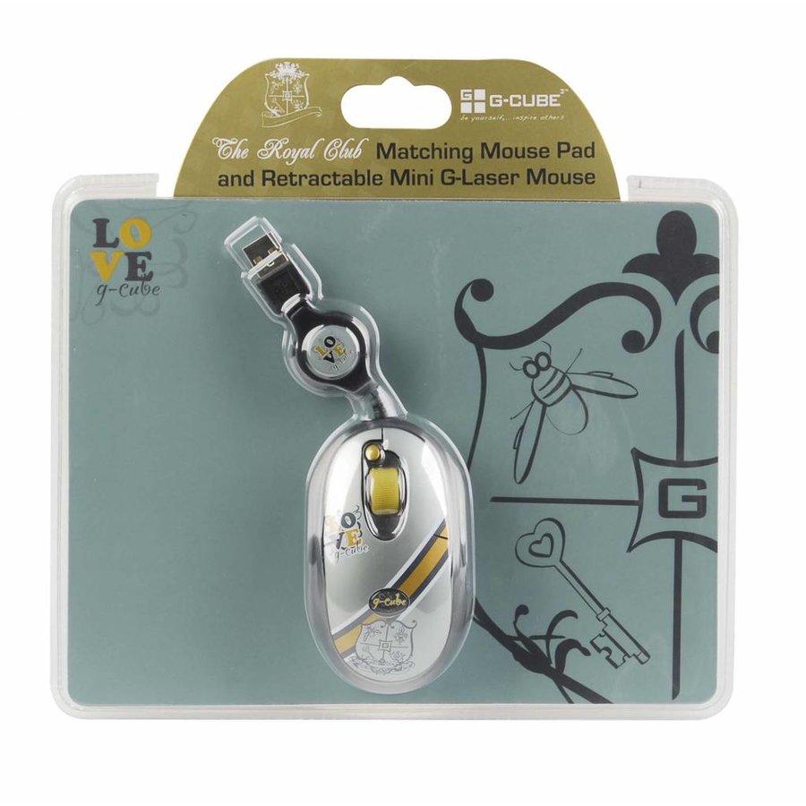The Royal Club - Royal Romantic - Bundle Wired Mouse & Mousepad