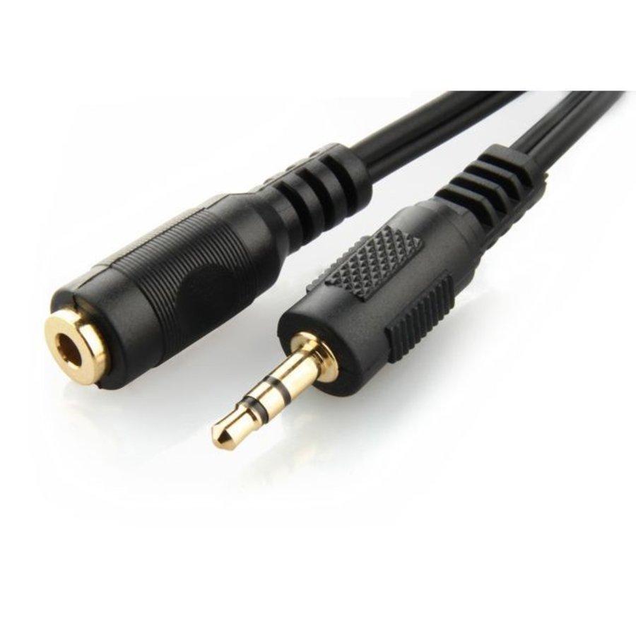 3,5-mm-Stereo-Audio-Verlängerungskabel, 5 m