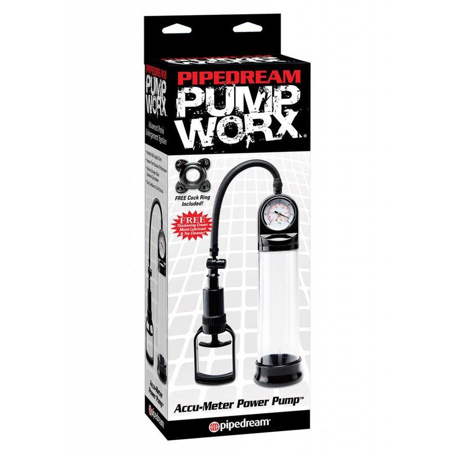 Accu Meter Power Pump penis vergroter