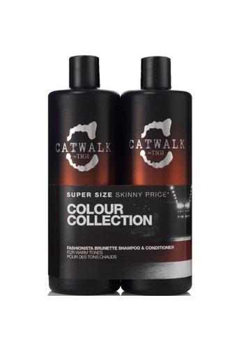 Tigi Bed Head Shampoo + Conditioner 2x750ml Fashionista Bruin haar