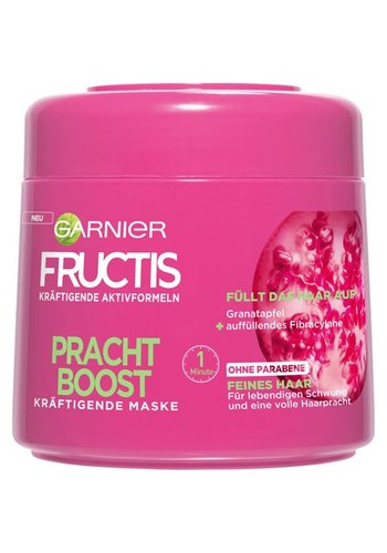 Garnier Fructis haarmasker -Pracht Boost-  300ml