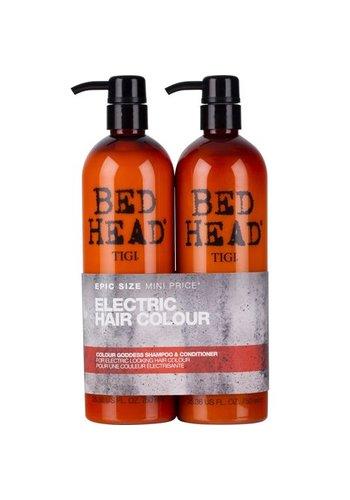 TIGI Bett Kopf - Farbe Göttin-Shampoo + Conditioner 2x750ml