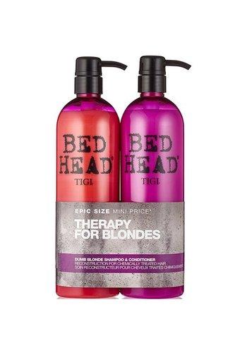 TIGI Bed Head -Therapy for blondes- Shampoo + Conditioner 2x750ml
