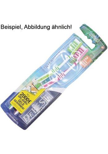 Dr.Best Dr. Beste tandenborstel pak van 2 + reiskap
