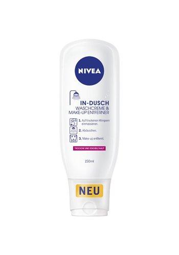 Nivea Dusche 150ml Make-Up Remover trockene Haut