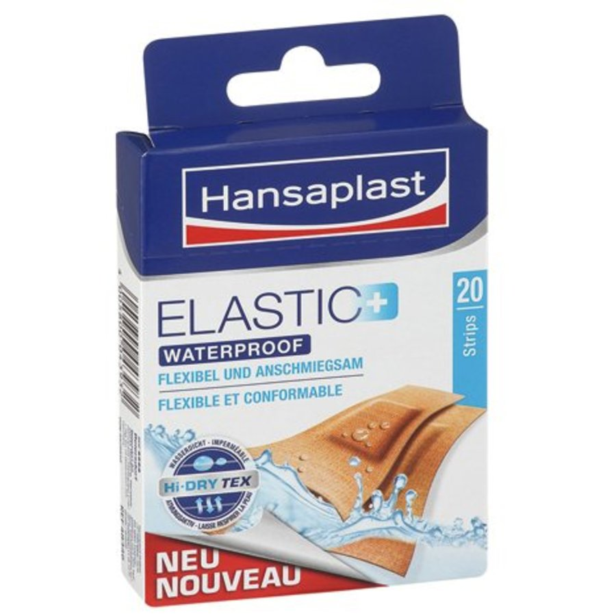 Elastische wasserdichte Pflaster - 20 Stück
