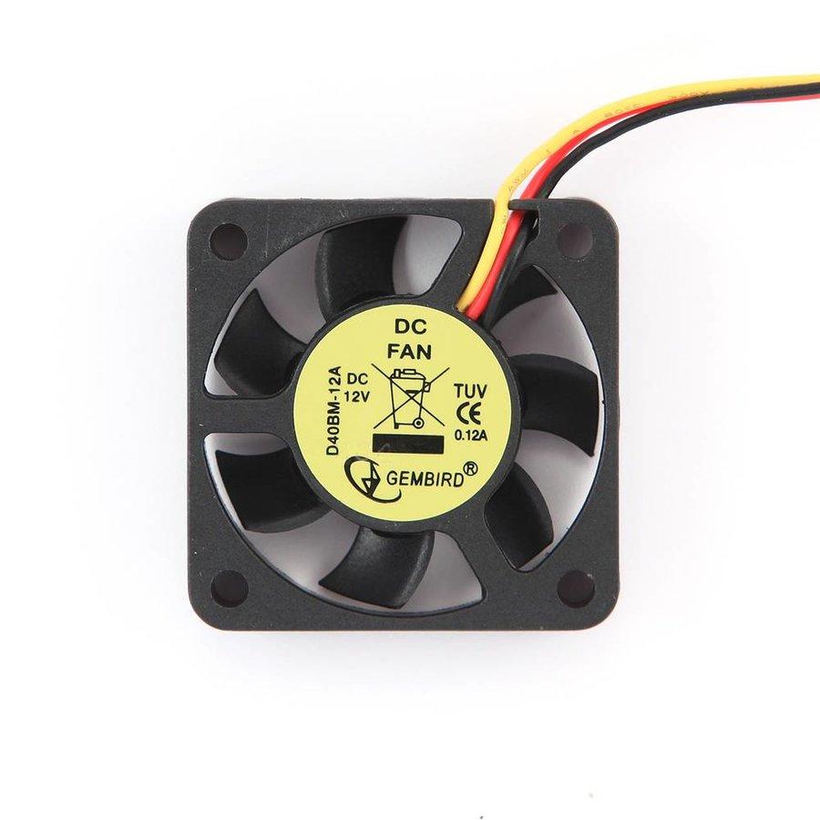 40 mm ball bearing cooling fan, 12 V
