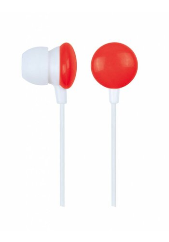 Gembird MHP-EP-001-R In-Ear Kopfhörer, rot