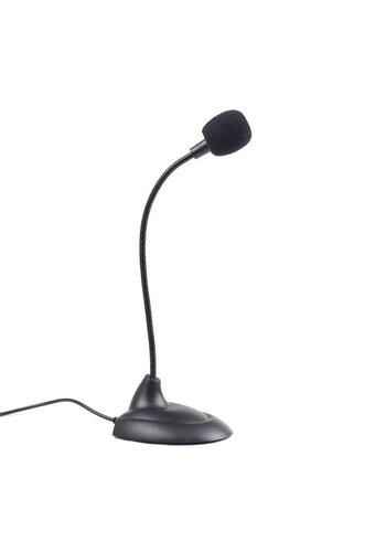 Gembird Microfoon met flexibele nek, zwart