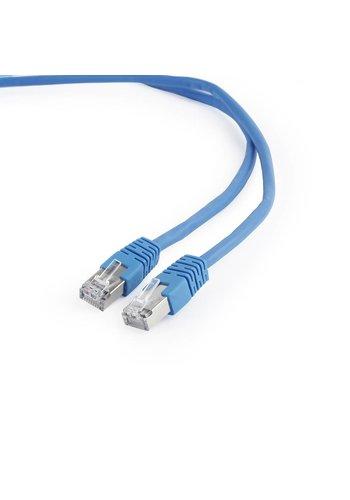 Cablexpert FTP Cat6 patchkabel, 0,5 m, blauw