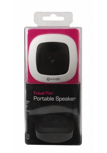 G-Cube Travel Tini - Draagbare Speaker - Wit