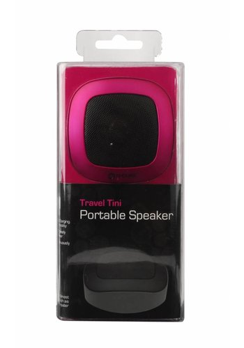G-Cube Travel Tini - Draagbare Speaker - Metallic Roze