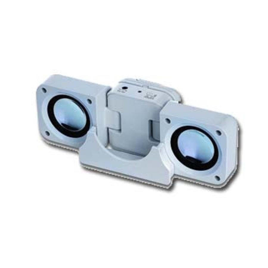 Mobile und sehr kompakte MP3 faltbare Soundstation