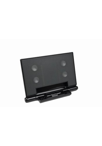 Gembird Portabler Lautsprecher mit Universal-Dock für iPod, iPhone 3/4/5/6