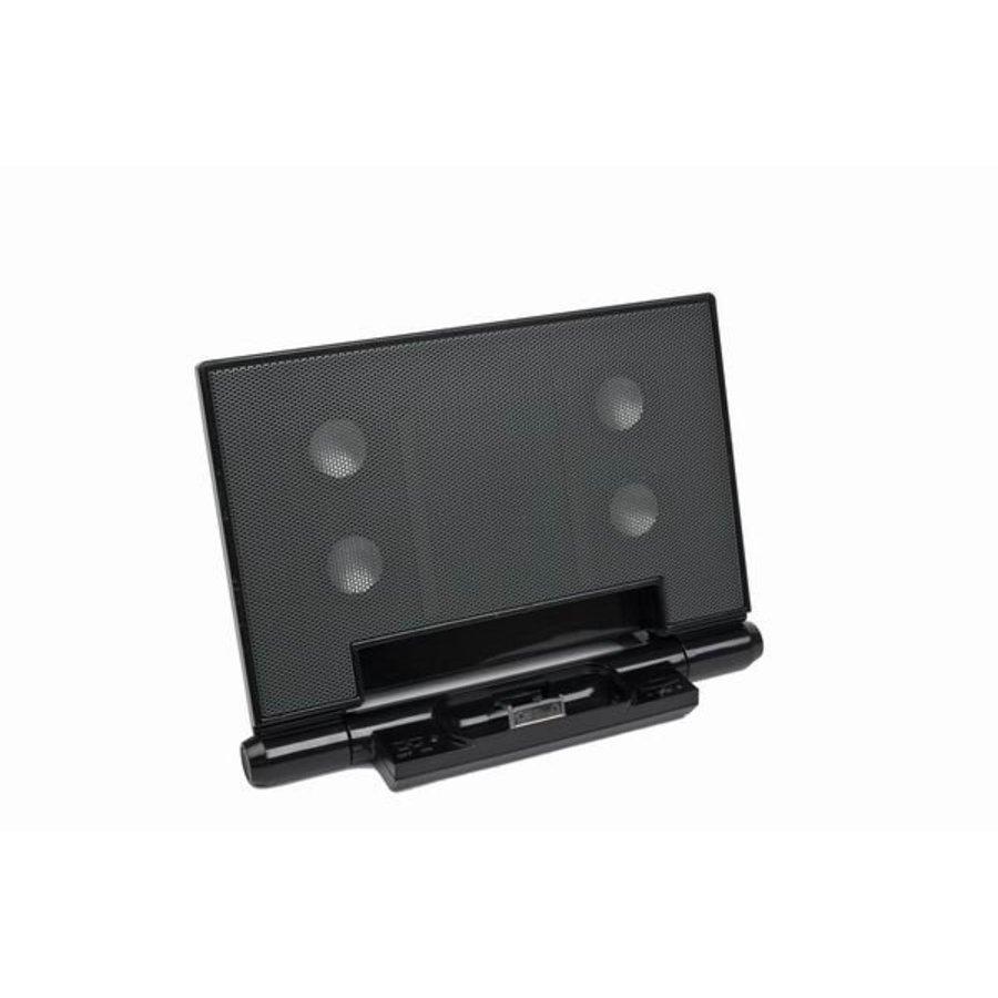 Portabler Lautsprecher mit Universal-Dock für iPod, iPhone 3/4/5/6