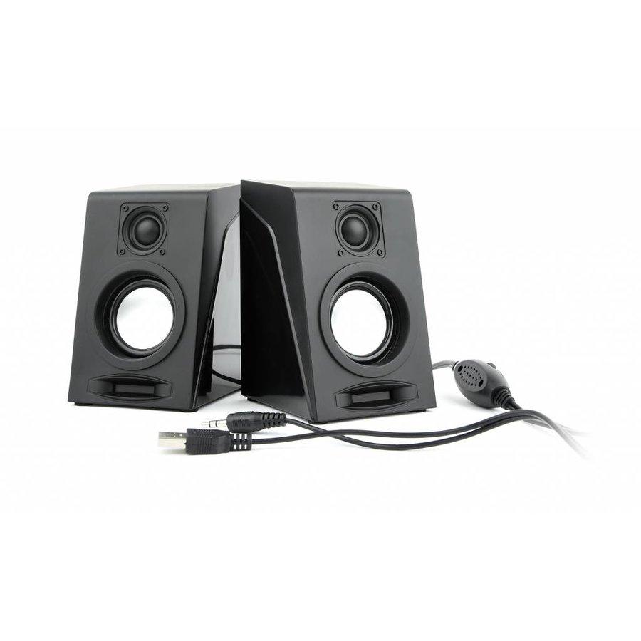 Desktop Stereo-Lautsprecher-System