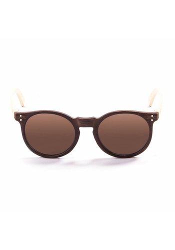 Ocean Sunglasses Lunettes de soleil unisexes LIZARDWOOD - marron