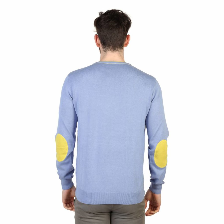 Herrenpullover - blau
