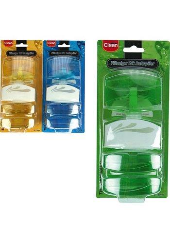 Clean Flüssiger Toilettenblock + 2 Nachfüllungen. 3x50ml