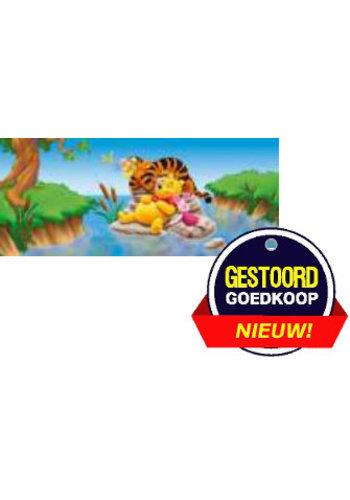 Disney Winnie the Pooh Poster - slapen in het water - 10x30 cm