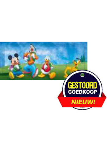 Disney Donald Duck Poster - in het park - 10x30 cm   - Copy - Copy - Copy