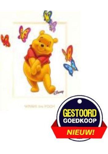 Disney Winnie the Pooh Poster - vlinders - 13x18 cm