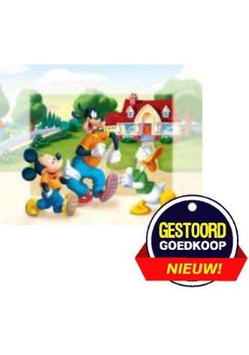 Disney Micky Mouse Poster - in de tuin - 13x18 cm