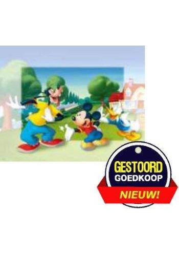 Disney Micky Mouse Poster - dansen in de tuin - 13x18 cm