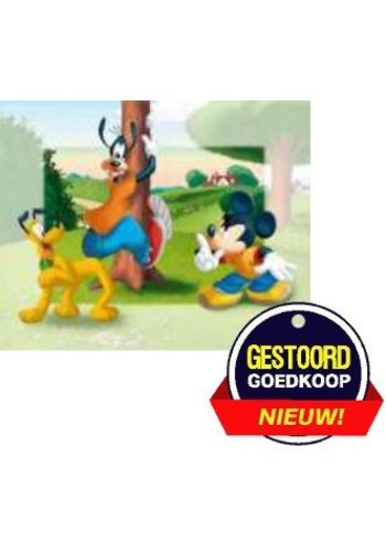 Disney Micky Mouse Poster - Goofy in de boom  - 13x18 cm