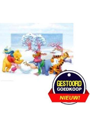Disney Winnie the Pooh Poster - dansen op het ijs - 13x18 cm - Copy