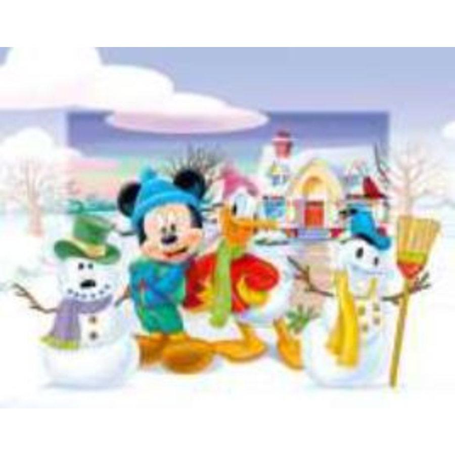 Poster - sneeuwpop - 13x18 cm