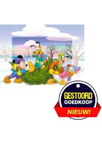 Disney Micky Mouse Poster - kerstboom - 13x18 cm