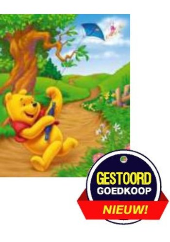 Disney Winnie the Pooh Poster - vlieger - 13x18 cm