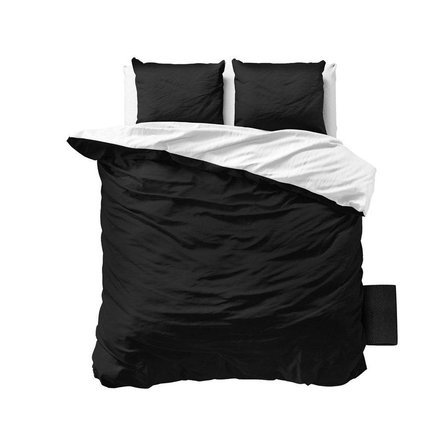 Bettbezug Twin Face Weiß / Schwarz