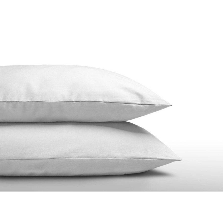 Kissenbezüge aus Baumwolle (2er Set) Weiß