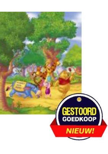 Disney Winnie the Pooh Poster - onderweg - 13x18 cm