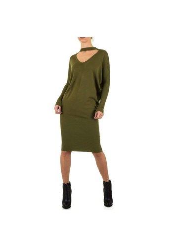 Neckermann Dames jurk maat één maat geschikt voor all - groen