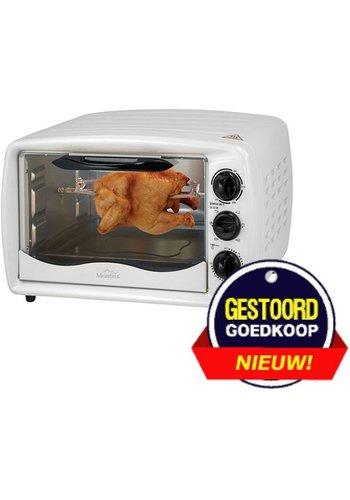 Montiss Mini oven - vrijstaand - 19 liter - 1500W