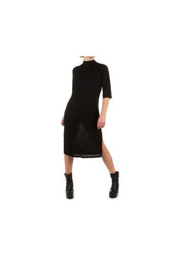 SHK MODE Damen Kleid von Shk Fashion One size fits all-schwarz