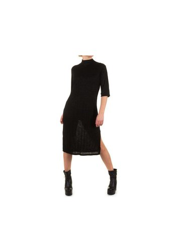 SHK MODE Dames Jurk door Shk Mode One size fits all- zwart