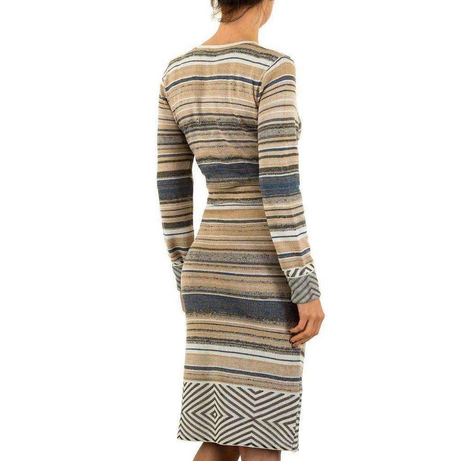 Damen Kleid von Mc Lorene Gr. one size - beige