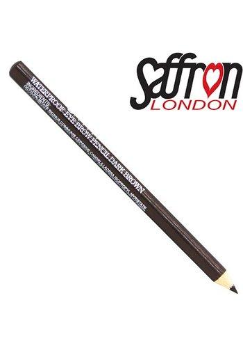 Saffron London Wenkbrauw contour potlood Saffron bruin